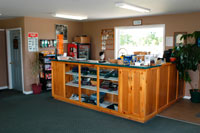 Take care of all of your golfing needs in the Village Green Clubhouse